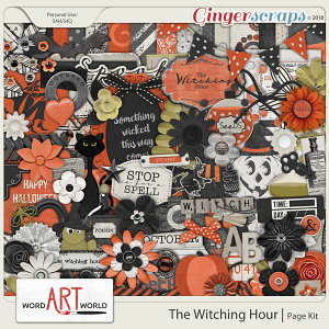 The Witching Hour Page Kit