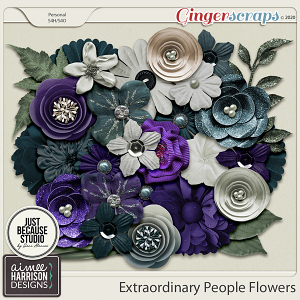 Extraordinary People Flowers by Aimee Harrison and JB Studio