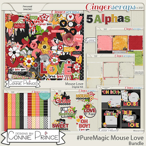 PureMagic: Mouse Love - Bundle by Connie Prince