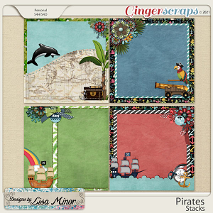 Pirates Stacks from Designs by Lisa Minor