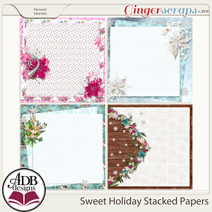 Sweet Holiday Stackers by ADB Designs