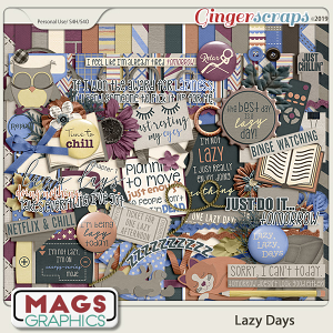 Lazy Days KIT by MagsGraphics