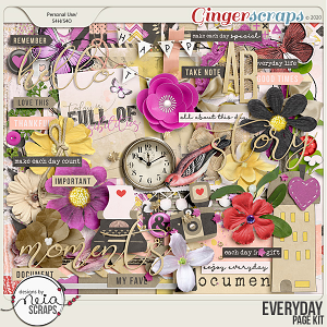 Everyday - Page Kit - by Neia Scraps