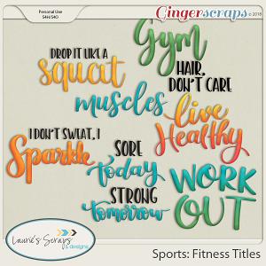 Sports: Fitness Titles