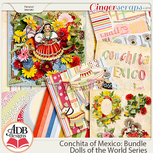 Conchita Bundle {DOTW Mexico} by ADB Designs