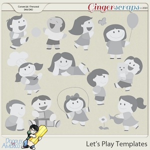 Doodles By Americo: Let's Play Templates
