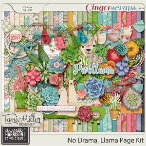 No Drama Llama Full Kit by Tami Miller Designs