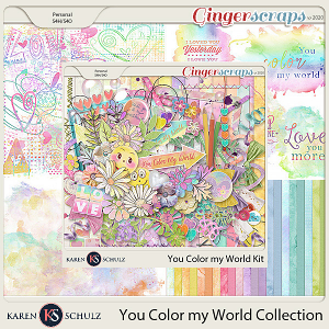 You Color My World Collection by Karen Schulz