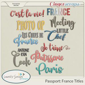 Passport: France Titles