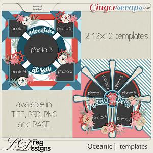 Oceanic: Templates by LDragDesigns