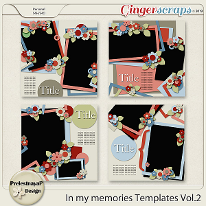 In my memories Templates Vol.2