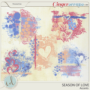 Season Of Love Accents by Ilonka's Designs