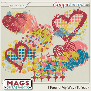I Found My Way To You HODGE PODGE by MagsGraphics