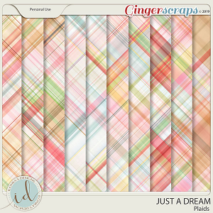 Just A Dream Plaids by Ilonka's Designs