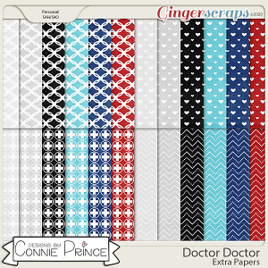 Doctor Doctor - Extra Papers by Connie Prince
