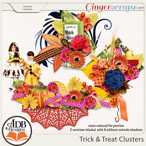 Trick and Treat Clusters by ADB Designs