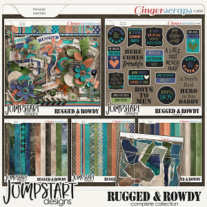 Rugged & Rowdy {Complete Collection}