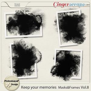 Keep your memories Masks&Frames Vol.8