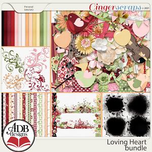 Loving Heart Bundle by ADB Designs