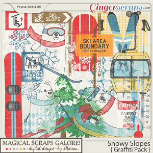 Snowy Slopes (graffiti pack)