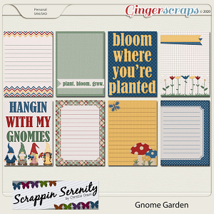 Gnome Garden Journal Cards
