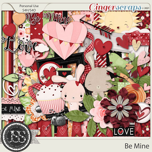 Be Mine Digital Scrapbook Kit