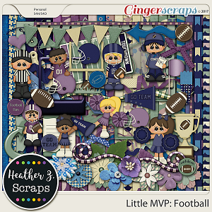 Little MVP: Football KIT by Heather Z Scraps