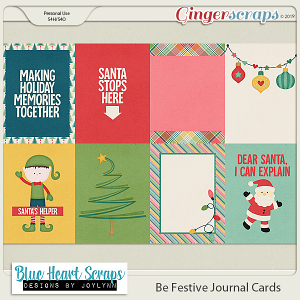 Be Festive Journal Card Pack