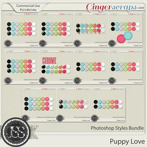Puppy Love CU Photoshop Styles Bundle