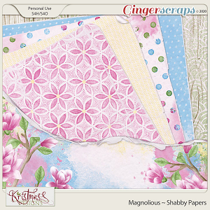 Magnolious Shabby Papers