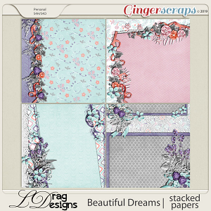 Beautiful Dreams: Stacked Papers by LDragDesigns