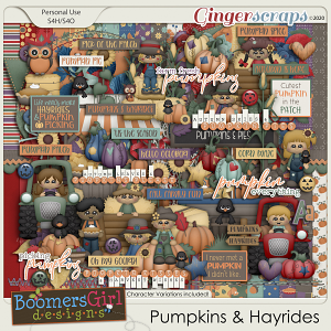 Pumpkins & Hayrides by BoomersGirl Designs