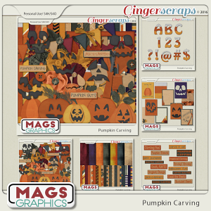 Pumpkin Carving BUNDLE by MagsGraphics