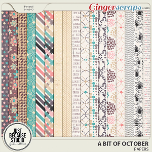 A Bit of October Papers by JB Studio