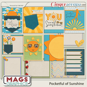 Pocketful of Sunshine JOURNAL CARDS by MagsGraphics
