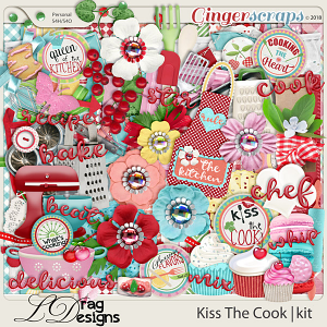 Kiss The Cook by LDragDesigns