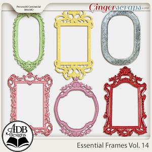 Essential Frames Vol 14 by ADB Designs