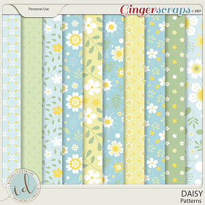 Daisy Patterns by Ilonka's Designs