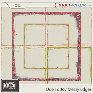 Ode to Joy Messy Edges by Aimee Harrison