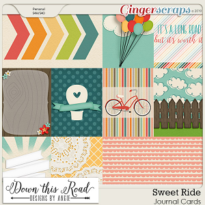 Sweet Ride | Journal Cards