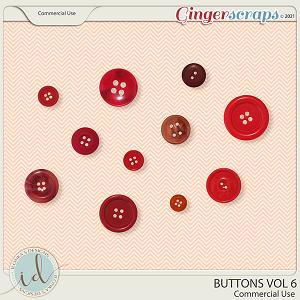 CU Buttons Vol 6 by Ilonka's Designs