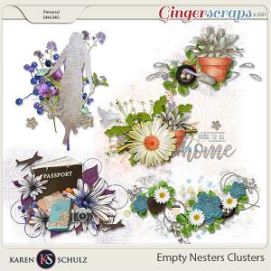 Empty Nesters Clusters by Karen Schulz