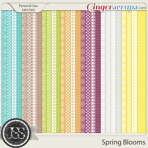 Spring Blooms Pattern Papers