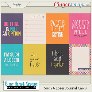 Such A Loser Journal Card Pack