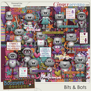 Bits & Bots by BoomersGirl Designs