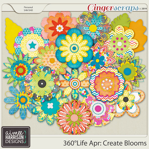 360°Life Apr: Create Blooms by Aimee Harrison