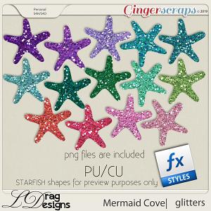 Mermaid Cove: Glitterstyles by LDragDesigns
