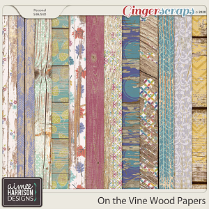 On the Vine Wood Papers by Aimee Harrison
