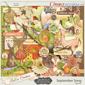 September Song  Page Kit