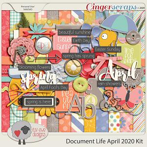 Document Life April 2020 Kit by Luv Ewe Designs